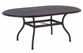 PRESTON BLACK Tavolo da esterno