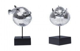 BLOWFISH  scultura