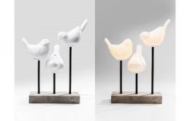BIRDS LED Lampada da tavolo