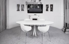 ELISEO WHITELINE Tavolo 180x100