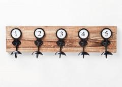 NUMBERS Appendiabiti da parete