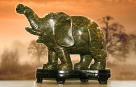 Elefante in giada