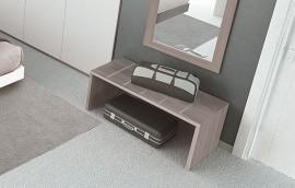 GRECALE PROF.CM.46 Portavaligie profili alluminio