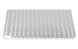 Piano rettangolare ACCIAIO INOX 120x80 per tavolini