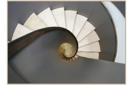 STAIRS Stampa incorniciata 100x70