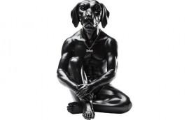 MAN DOG  Statua H.cm.33