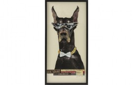 ART COOL DOG Quadro 121x61