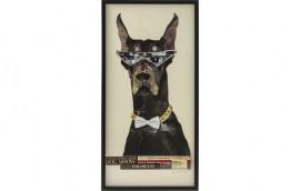 ART COOL DOG Quadro 121x61