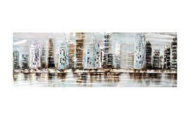 THE CITY  Dipinto 150X50