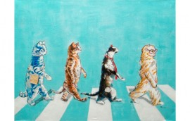 ABBEY ROAD Dipinto 120X90