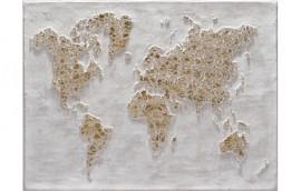 GOLD WORLD Dipinto 120X90