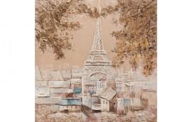 GOLD PARIS Dipinto 100X100