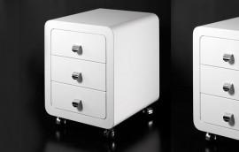 WHITELINE Cassettiera  3 cassetti
