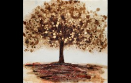 GOLD TREE Dipinto 80X80