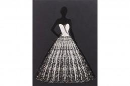 GLAM DRESS Dipinto 90X120