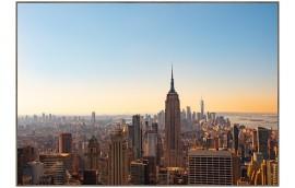 NY SKYLINE Stampa incorniciata 100x70