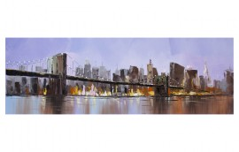 PURPLE BRIDGE  Dipinto 150x50