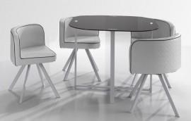NOVEL Tavolo + 4 sedie