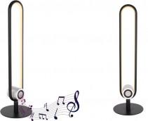 SOUND SMALL Lampada da tavolo c/altoparlante