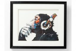 ART MONKEY MUSIC Quadro 50X50