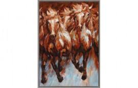 WILD HORSES Dipinto 70X100