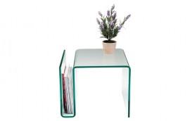 CLEAR Tavolino cristallo