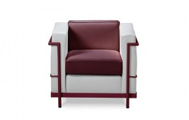 HALL COLOUR poltrona struttura bordeaux