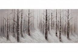 WHITE FOREST Dipinto 150X65