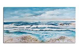 BEACH Dipinto 120X60