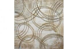 WALL CIRCLES Dipinto 100X100